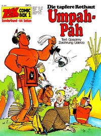 Cover Thumbnail for Zack Comic Box (Koralle, 1972 series) #2 - Umpah-Pah  - Die tapfere Rothaut