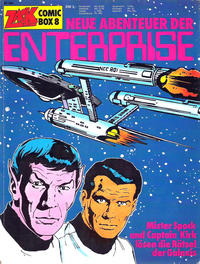 Cover Thumbnail for Zack Comic Box (Koralle, 1972 series) #8 - Neue Abenteuer der Enterprise
