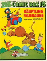 Cover Thumbnail for Zack Comic Box (Koralle, 1972 series) #15 - Häuptling Feuerauge