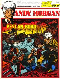 Cover for Zack Comic Box (Koralle, 1972 series) #19 - Andy Morgan - Pest an Bord