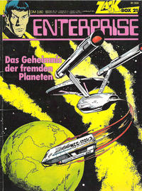 Cover Thumbnail for Zack Comic Box (Koralle, 1972 series) #21 - Enterprise - Das Geheimnis des fremden Planeten
