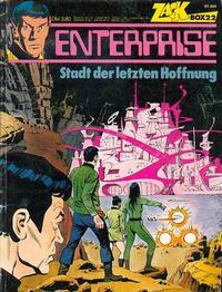 Cover Thumbnail for Zack Comic Box (Koralle, 1972 series) #22 - Enterprise - Stadt der letzten Hoffung