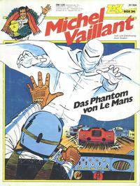 Cover Thumbnail for Zack Comic Box (Koralle, 1972 series) #24 - Michel Vaillant - Das Phantom von Le Mans