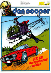 Cover Thumbnail for Zack Comic Box (Koralle, 1972 series) #25 - Dan Cooper - FX18 antwortet nicht