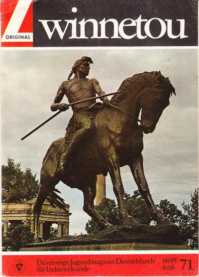 Cover for Winnetou (Lehning, 1964 series) #71