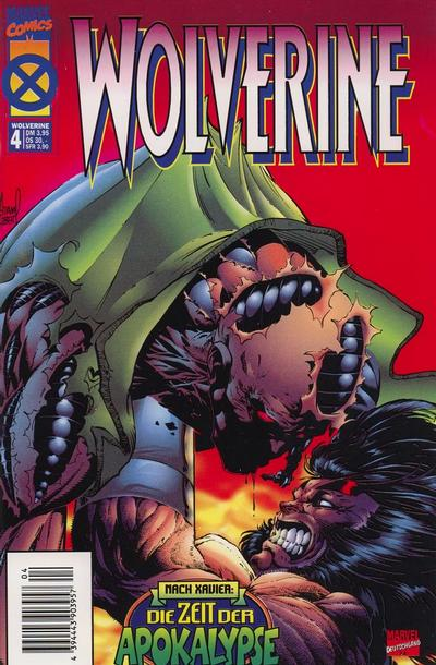 Cover for Wolverine (Panini Deutschland, 1997 series) #4