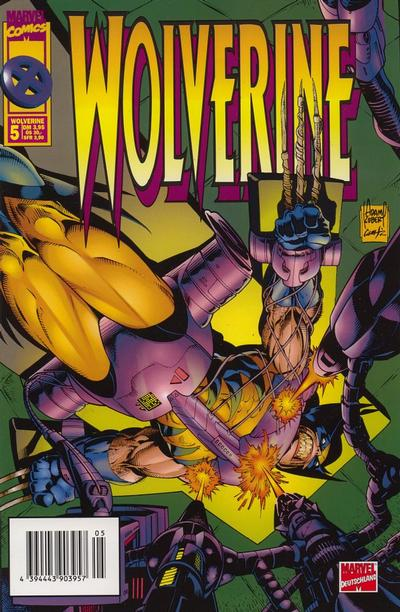 Cover for Wolverine (Panini Deutschland, 1997 series) #5