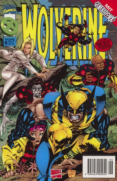 Cover for Wolverine (Panini Deutschland, 1997 series) #6