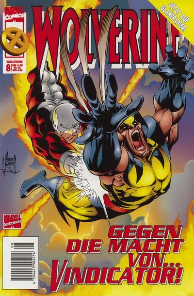 Cover for Wolverine (Panini Deutschland, 1997 series) #8