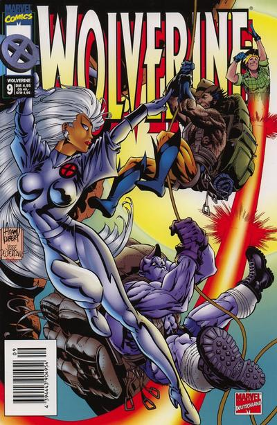 Cover for Wolverine (Panini Deutschland, 1997 series) #9