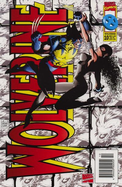 Cover for Wolverine (Panini Deutschland, 1997 series) #10