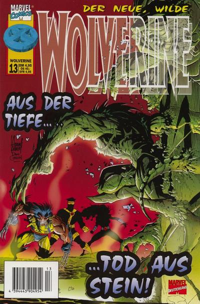 Cover for Wolverine (Panini Deutschland, 1997 series) #13