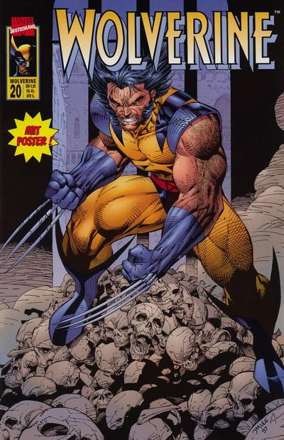 Cover for Wolverine (Panini Deutschland, 1997 series) #20