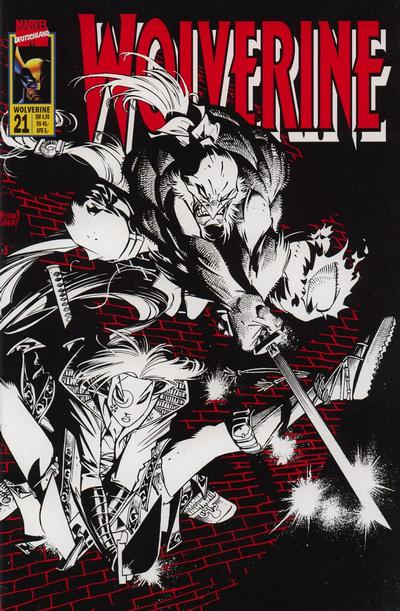 Cover for Wolverine (Panini Deutschland, 1997 series) #21