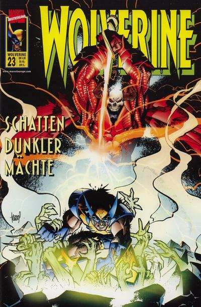 Cover for Wolverine (Panini Deutschland, 1997 series) #23