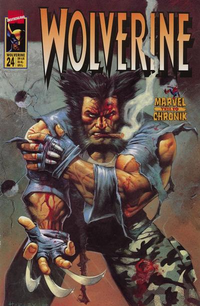 Cover for Wolverine (Panini Deutschland, 1997 series) #24