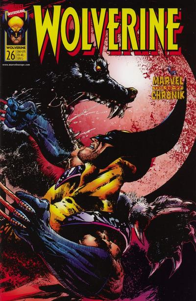 Cover for Wolverine (Panini Deutschland, 1997 series) #26