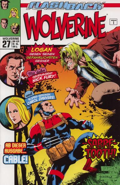 Cover for Wolverine (Panini Deutschland, 1997 series) #27