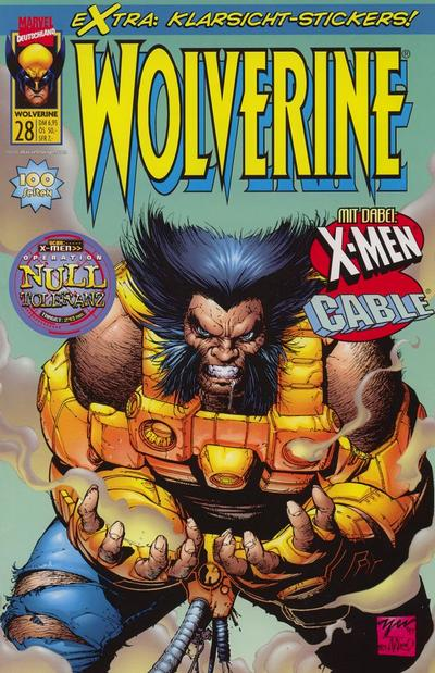 Cover for Wolverine (Panini Deutschland, 1997 series) #28