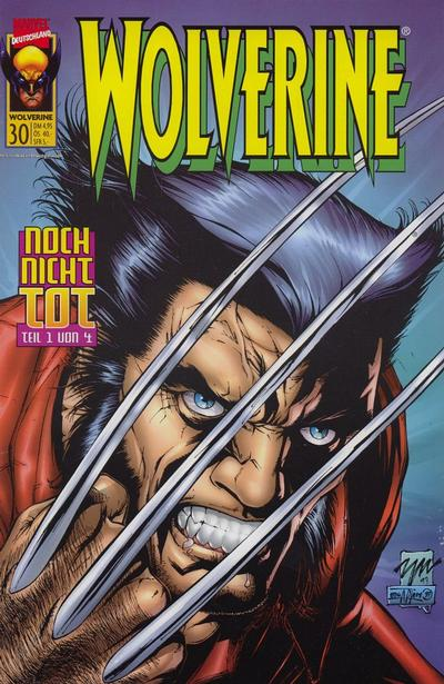 Cover for Wolverine (Panini Deutschland, 1997 series) #30