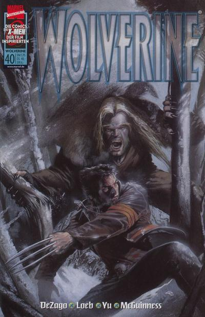 Cover for Wolverine (Panini Deutschland, 1997 series) #40
