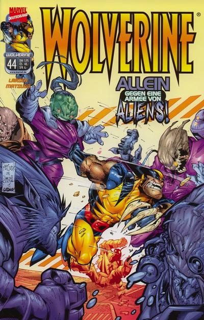 Cover for Wolverine (Panini Deutschland, 1997 series) #44