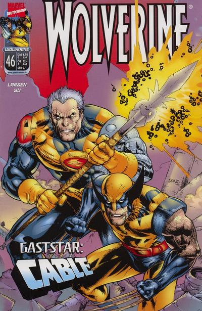 Cover for Wolverine (Panini Deutschland, 1997 series) #46