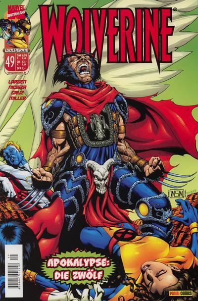 Cover for Wolverine (Panini Deutschland, 1997 series) #49