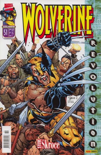 Cover for Wolverine (Panini Deutschland, 1997 series) #51
