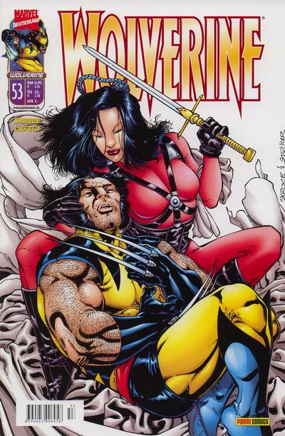 Cover for Wolverine (Panini Deutschland, 1997 series) #53