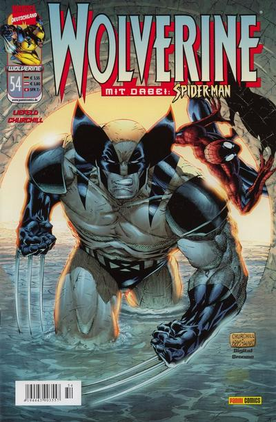 Cover for Wolverine (Panini Deutschland, 1997 series) #54