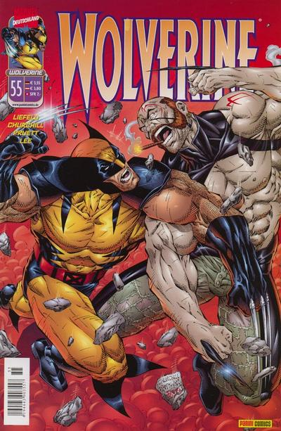 Cover for Wolverine (Panini Deutschland, 1997 series) #55