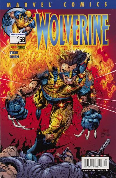 Cover for Wolverine (Panini Deutschland, 1997 series) #56