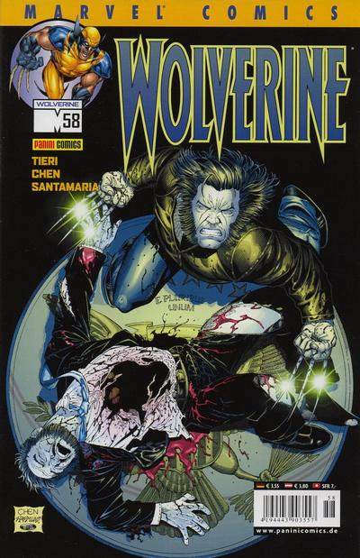 Cover for Wolverine (Panini Deutschland, 1997 series) #58