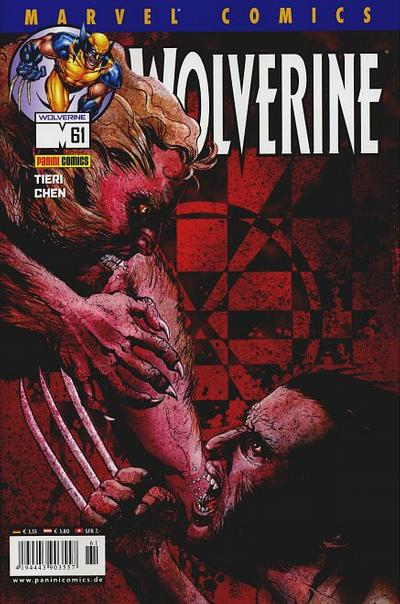 Cover for Wolverine (Panini Deutschland, 1997 series) #61