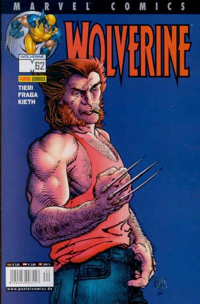 Cover for Wolverine (Panini Deutschland, 1997 series) #62