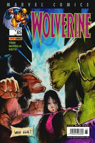 Cover for Wolverine (Panini Deutschland, 1997 series) #65