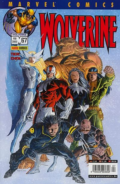 Cover for Wolverine (Panini Deutschland, 1997 series) #67