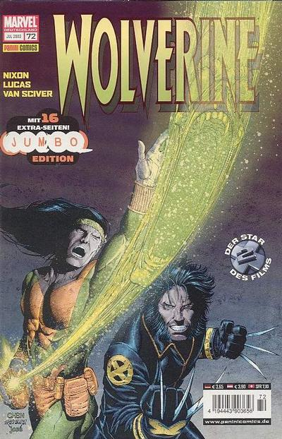 Cover for Wolverine (Panini Deutschland, 1997 series) #72