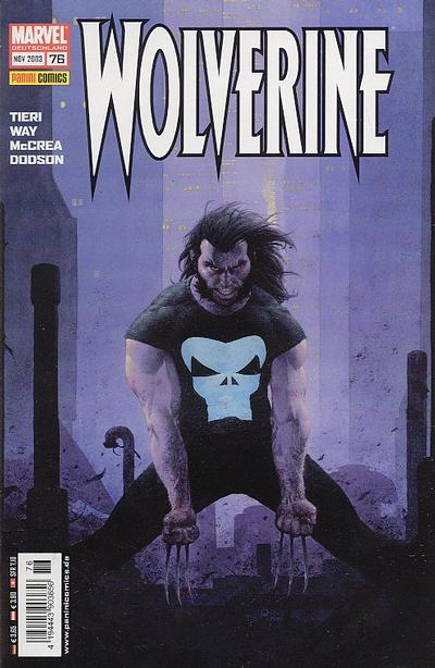 Cover for Wolverine (Panini Deutschland, 1997 series) #76