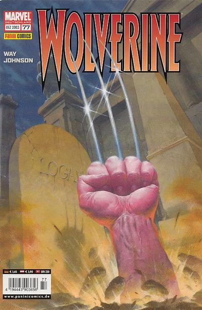 Cover for Wolverine (Panini Deutschland, 1997 series) #77