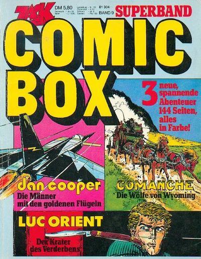 Cover for Zack Comic Box (Koralle, 1972 series) #9 - Dan Cooper / Comanche / Luc Orient