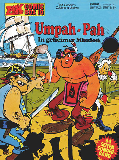 Cover for Zack Comic Box (Koralle, 1972 series) #10 - Umpah-Pah - In geheimer Mission