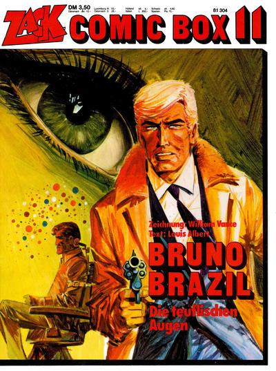 Cover for Zack Comic Box (Koralle, 1972 series) #11 - Bruno Brazil  - Die teuflischen Augen