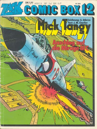 Cover for Zack Comic Box (Koralle, 1972 series) #12 - Mick Tangy - Anschlag auf Mirage IIIc