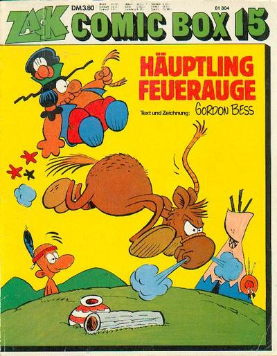 Cover for Zack Comic Box (Koralle, 1972 series) #15 - Häuptling Feuerauge