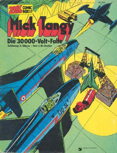 Cover for Zack Comic Box (Koralle, 1972 series) #17 - Mick Tangy - Die 30000-Volt-Falle