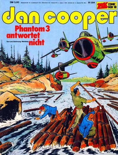 Cover for Zack Comic Box (Koralle, 1972 series) #18 - Dan Cooper - Phantom 3 antwortet nicht