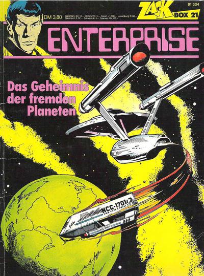 Cover for Zack Comic Box (Koralle, 1972 series) #21 - Enterprise - Das Geheimnis des fremden Planeten