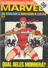 Cover for Superaventuras Marvel (Editora Abril, 1982 series) #22